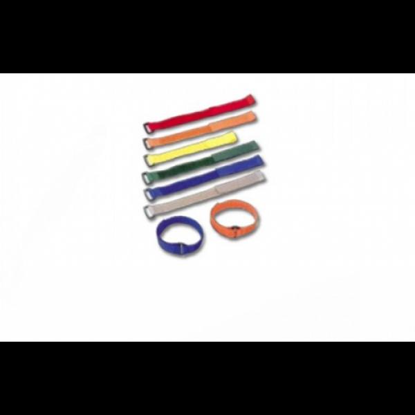 Versatile Cable Tie,  Max. Bundle Dia.:70mm Width:20mm, mixed 6 colors 4 pcs each