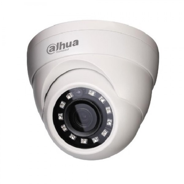 CCTV Camera 2 Megapixel 1080P HDCVI Dome -IR Weather-Proof (model: DH-HAC-HDW1200M)
